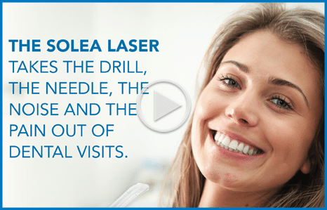 Solea Dental Laser for needle-free dentistry at Bass Family Dentistry in Apex NC